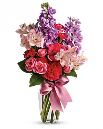 Teleflora's Jumping for Joy  Vase arrangement