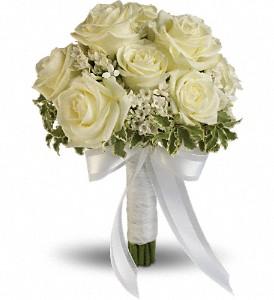 Teleflora's Lacy Rose Bouquet Wedding Bouquet