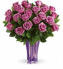 Teleflora's Lavender Splendor Bouquet
