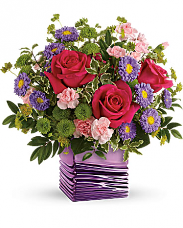 Teleflora's Lavender Waves - 405 Flower Arrangement