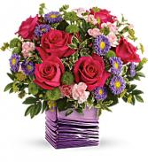 Teleflora's Lavender Waves Bouquet