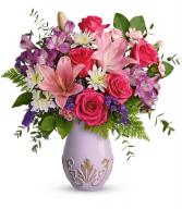 Teleflora's Lavishly Lavender T21M100B Bouquet