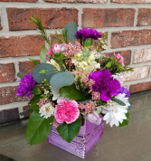 Teleflora's Liquid Lavender Bouquet fresh arrangement