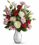 Teleflora's Love Forever Bouquet Vase Bouquet
