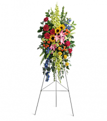 Teleflora's Love Lives On Standing Spray