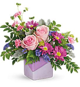 Teleflora's Love Squared Bouquet Fresh Mixed Flower Arrangement