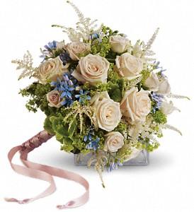 Teleflora's Lovely as a Rose Bouquet Wedding Bouquet