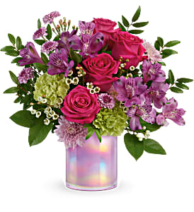 Teleflora's Lovely Lilac Bouquet  Cylinder