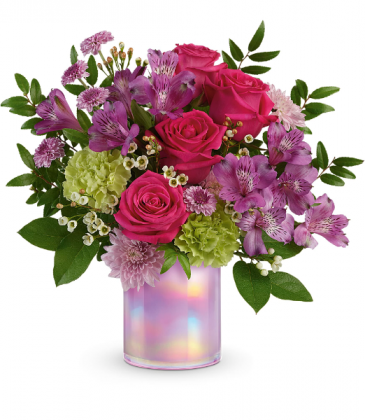 Teleflora's Lovely Lilac T21E300B Bouquet