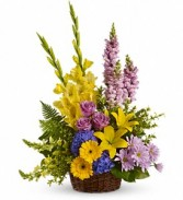 Teleflora's Love's Tapestry Basket Arrangement