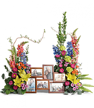 Teleflora's Loving Farewell Photo Tribute