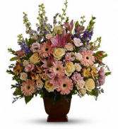 Teleflora's Loving Grace           T220-1 Fresh Floral Arrangement