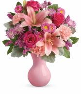Teleflora's Lush Blush Bouquet Teleflora
