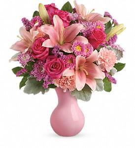 Teleflora's Lush Blush TEV45-2B Bouquet