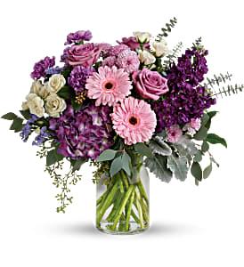 Teleflora's Magnificent Mauves Fresh Flowers
