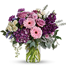 Teleflora's Magnificent Mauves Fresh Flowers