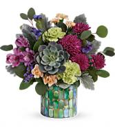 Teleflora's Marvelous Mosaic Bouquet Fresh Floral