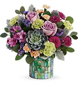 Teleflora's Marvelous Mosaic T20S100B  Bouquet