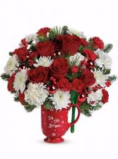 Teleflora's Merry Mug  Bouquet