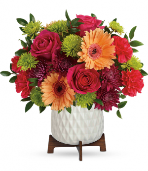 Teleflora's Mid Mod Brights TEV58-7B Bouquet in Moses Lake, WA | FLORAL OCCASIONS