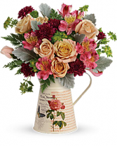 Teleflora's Mod Mademoiselle Bouquet Arrangement