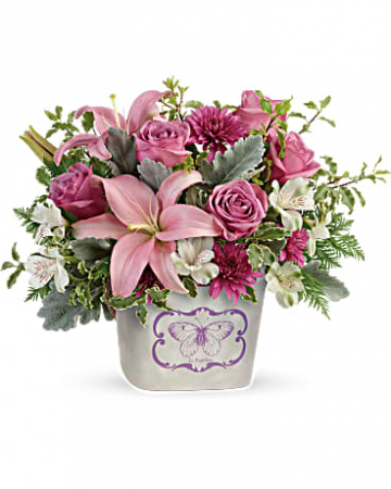Teleflora's Monarch Garden Bouquet Mother's Day