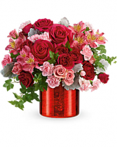 Teleflora's Moonstruck Mercury Bouquet Valentines