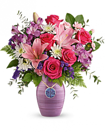 Teleflora's My Darling Dragonfly Bouquet Mother's Day / All Occasions