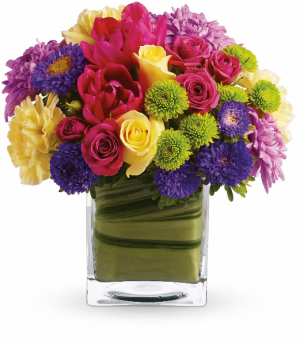 Teleflora's One Fine Day Fresh Arrangement in Rossville, GA | Ensign The Florist
