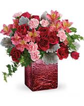 Telefloras Ooh La Ombre Bouquet