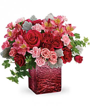 Teleflora's Ooh La Ombre Bouquet Valentine's Day