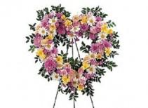Teleflora's Open Heart Wreath #13