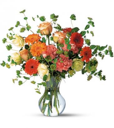Teleflora's Orange Blossom Vase