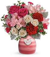 Teleflora's Painted In Love Bouquet Teleflora
