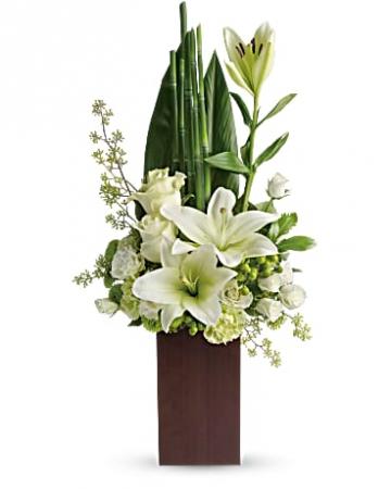 Teleflora's Peace and Harmony Bouquet  Arrangement