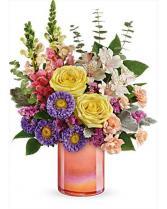 Teleflora's Peach Shimmer Bouquet