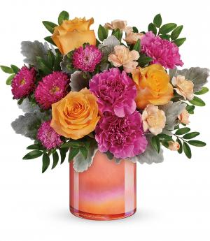 Teleflora's Perfect Spring Peach T20E300B Bouquet in Moses Lake, WA | FLORAL OCCASIONS