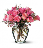 Teleflora's Pink Birthday Roses