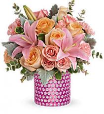 Teleflora's Pink Breeze Bouqet Fresh Flowers