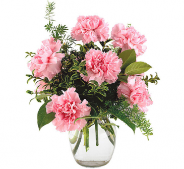 Teleflora's Pink Notion  Vase arrangement