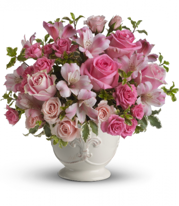 Teleflora's Pink Potpourri Bouquet with Roses T210-1A