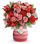Teleflora's Playfully Pink T20V300B Bouquet