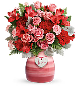 Teleflora's Playfully Pink T20V300B Bouquet  in Moses Lake, WA | FLORAL OCCASIONS