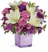 Teleflora's Pleasing Purple TEV45-1B Bouquet