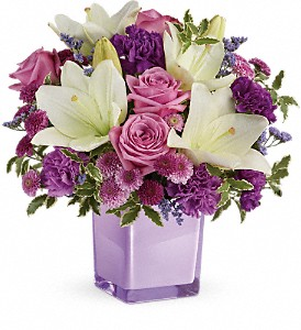 Teleflora's Pleasing Purple TEV45-1B Bouquet