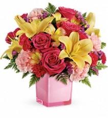 Teleflora's Pop of Fun Bouquet