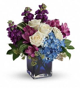 Teleflora's Portrait In Purple Fresh Flowers