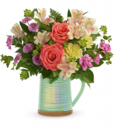 Teleflora's Pour on the Beauty