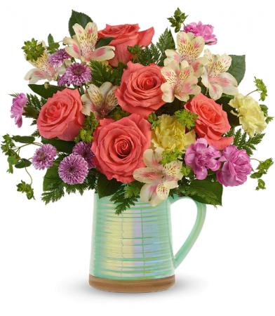Teleflora's Pour on the Beauty T21E200B Bouquet