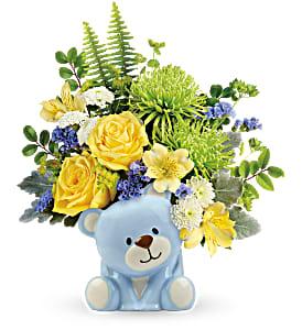Teleflora's Precious Blue Bear